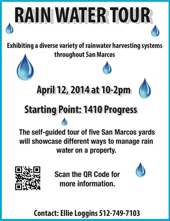 Rainwater tour 4-2014